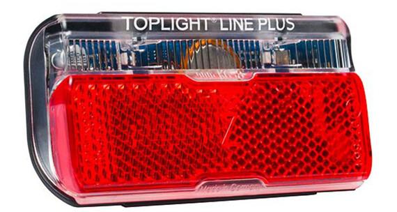Busch + Müller Toplight Line plus Faretto con distanzia tra i fori 50 mm rosso/nero
